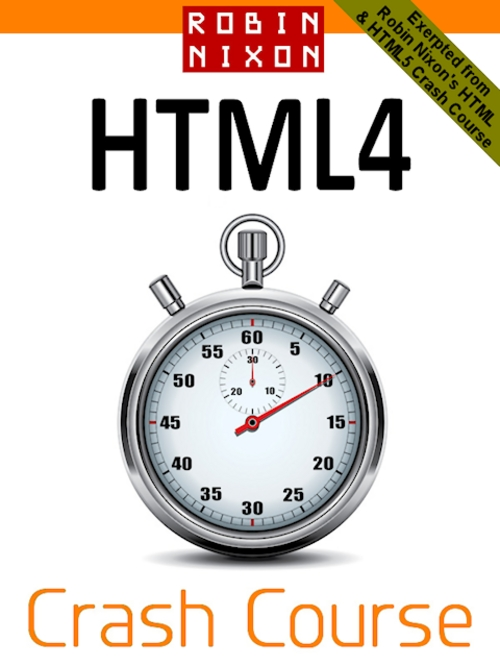 Product picture Robin Nixon: HTML4 Crash Course